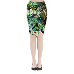 Jealousy   Battle Of Insects 4 Midi Wrap Pencil Skirt