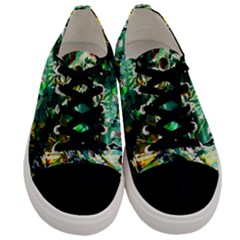 Jealousy   Battle Of Insects 4 Men s Low Top Canvas Sneakers