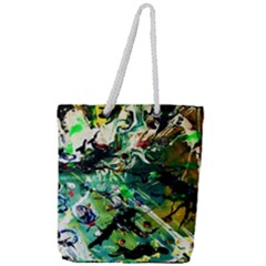Jealousy   Battle Of Insects 4 Full Print Rope Handle Tote (large)