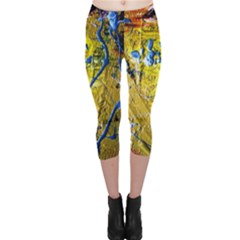Lunar Eclipse 5 Capri Leggings
