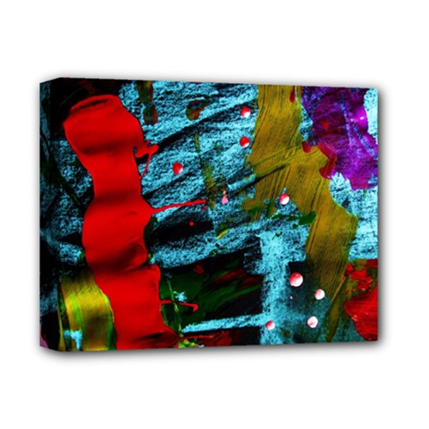 Totem 1 Deluxe Canvas 14  X 11  by bestdesignintheworld