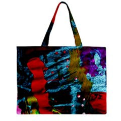 Totem 1 Zipper Mini Tote Bag by bestdesignintheworld