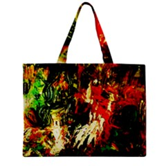 Sunset In A Desert Of Mexico 1 Zipper Mini Tote Bag
