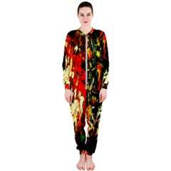 Sunset In A Desert Of Mexico 1 Onepiece Jumpsuit (ladies)