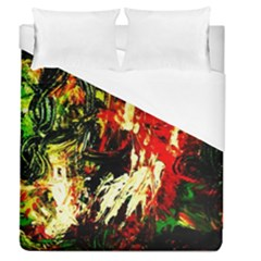 Sunset In A Desert Of Mexico 1 Duvet Cover (queen Size)