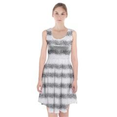 Stripe Black Racerback Midi Dress