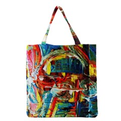 Red Plane 1 Grocery Tote Bag
