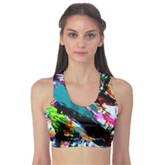 Tulips First Sprouts 6 Sports Bra