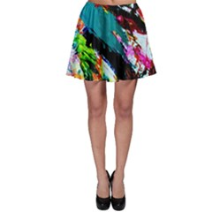 Tulips First Sprouts 6 Skater Skirt