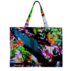 Tulips First Sprouts 6 Zipper Mini Tote Bag