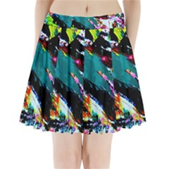 Tulips First Sprouts 6 Pleated Mini Skirt
