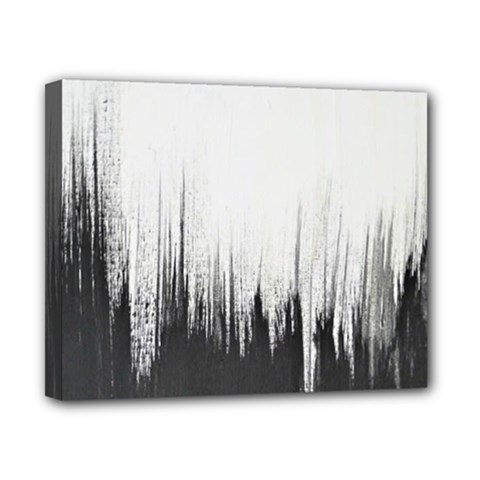 Simple Abstract Art Canvas 10  x 8