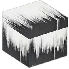 Simple Abstract Art Storage Stool 12