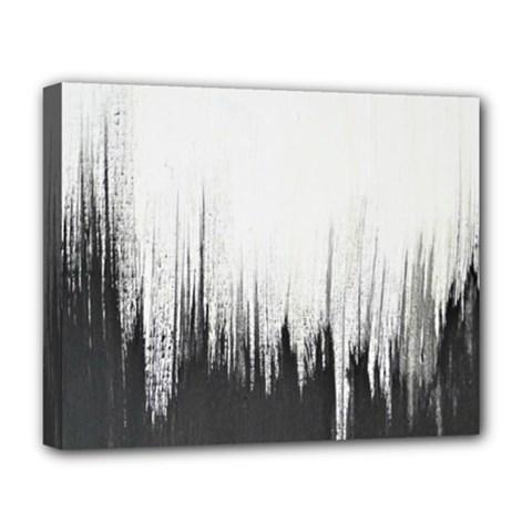 Simple Abstract Art Deluxe Canvas 20  X 16