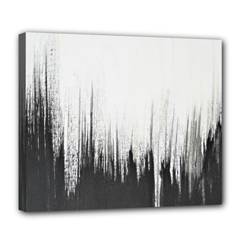 Simple Abstract Art Deluxe Canvas 24  x 20
