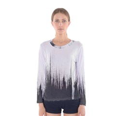 Simple Abstract Art Women s Long Sleeve Tee