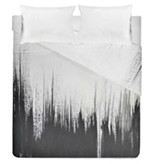 Simple Abstract Art Duvet Cover Double Side (Queen Size)