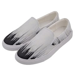Simple Abstract Art Men s Canvas Slip Ons