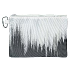 Simple Abstract Art Canvas Cosmetic Bag (XL)