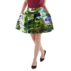 Bow Of Scorpio Before A Butterfly 8 A Line Pocket Skirt by bestdesignintheworld