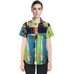 Marakesh 3 Women s Short Sleeve Shirt