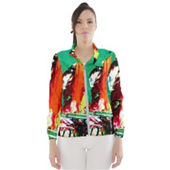 Tulips First Sprouts 7 Wind Breaker (women)