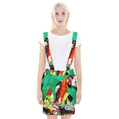 Tulips First Sprouts 7 Braces Suspender Skirt
