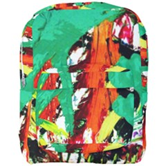Tulips First Sprouts 7 Full Print Backpack