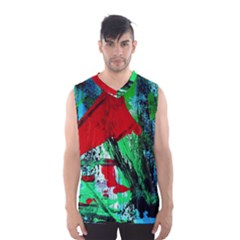 Humidity 5 Men s Basketball Tank Top
