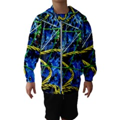 Moment Of The Haos 7 Hooded Wind Breaker (kids)