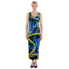 Moment Of The Haos 7 Fitted Maxi Dress