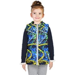 Moment Of The Haos 7 Kid s Hooded Puffer Vest by bestdesignintheworld