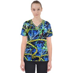 Moment Of The Haos 7 Scrub Top