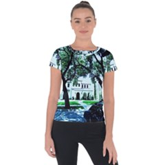 Hot Day In Dallas 16 Short Sleeve Sports Top