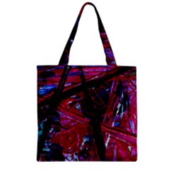 Sacred Knowledge 1 Zipper Grocery Tote Bag