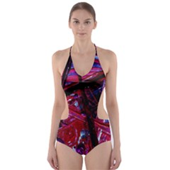 Sacred Knowledge 1 Cut Out One Piece Swimsuit