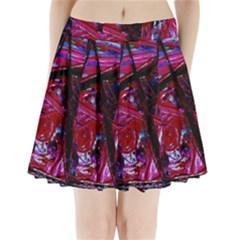 Sacred Knowledge 1 Pleated Mini Skirt