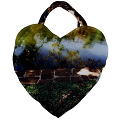 Highland Park 10 Giant Heart Shaped Tote