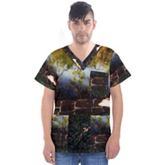 Highland Park 10 Men s V Neck Scrub Top