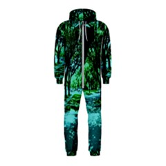 Hot Day In Dallas 5 Hooded Jumpsuit (kids)