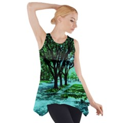 Hot Day In Dallas 5 Side Drop Tank Tunic