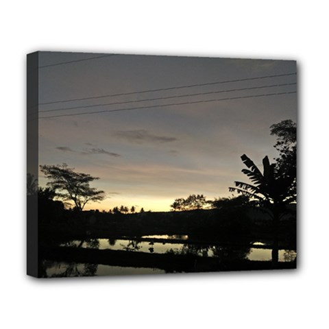 Photography Sunset Deluxe Canvas 20  X 16