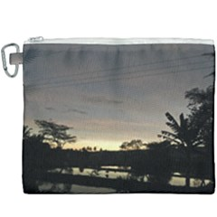 Photography Sunset Canvas Cosmetic Bag (xxxl)