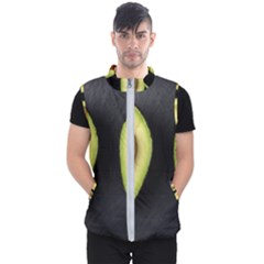 Fruit Avocado Men s Puffer Vest