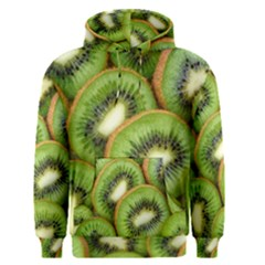 Sliced And Open Kiwi Fruit Men s Pullover Hoodie