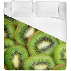 Sliced And Open Kiwi Fruit Duvet Cover (king Size) by goodart