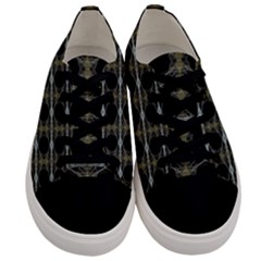 Connected  Men s Low Top Canvas Sneakers