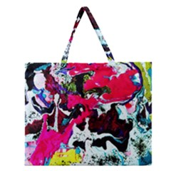 Buffulo Vision 1/1 Zipper Large Tote Bag