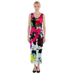 Buffulo Vision 1/1 Fitted Maxi Dress