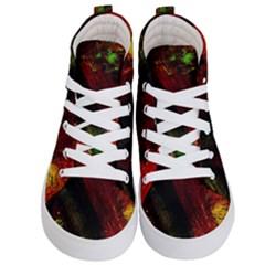 Secret Sign Of Masons 6 Kid s Hi Top Skate Sneakers